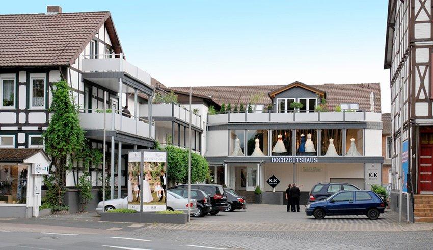 Hochzeitshaus Northeim Gebäude Anfahrt